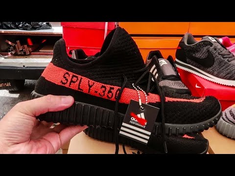 Would You Buy Fake Yeezy's? Turkey Street Market
