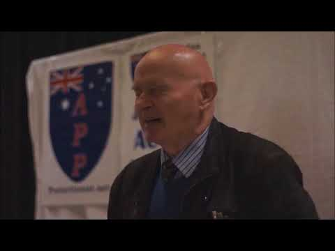 Graeme Campbell addresses the APP in Perth, July 2016