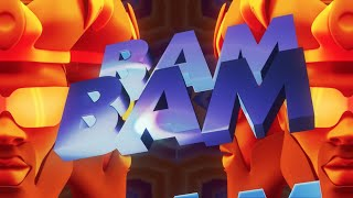 Major Lazer feat. French Montana & BEAM - Bam Bam (Official Lyric Video)