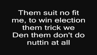 Repeat youtube video Damian Marley Welcome To Jamrock lyrics on SCREEN