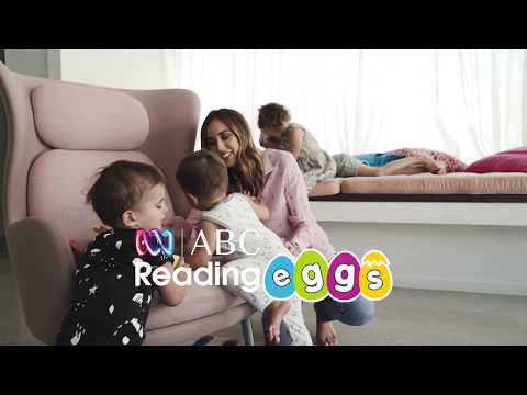 Aussie media personality Bec Judd and her kids love ABC Reading Eggs.