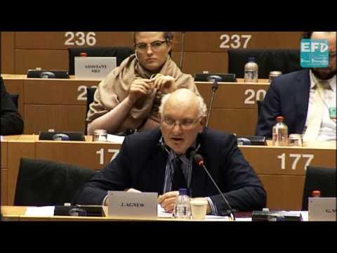 Reverting to methods that produce less food will kill more people - Stuart Agnew MEP