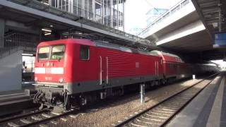 Der Bahnhof Berlin Südkreuz - S-Bahn - Regionalzüge - Fernverkehr [1080p]