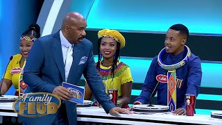 "Steve asks where the ""IN DA BELLY"" are from? He means the Ndebele tribe! 