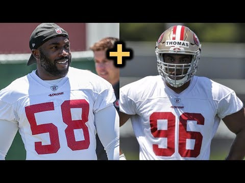 49ers sign LB Elvis Dumervil | Solomon Thomas The Beneficiary?
