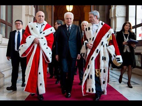 Il Presidente Mattarella alla Corte Suprema di Cassazione