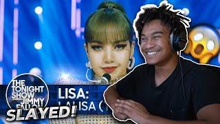 LISA: LALISA (TV Debut) | The Tonight Show Starring Jimmy Fallon - REACTION