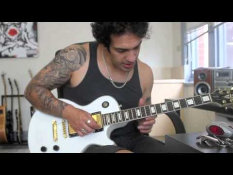 How to play 'Anastasia'  by Slash Guitar Solo Lesson