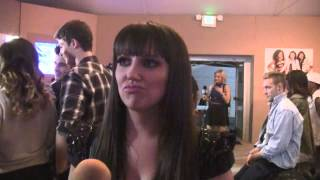 'X Factor' - Rachel Potter - Backstage Interview (11-13-13)