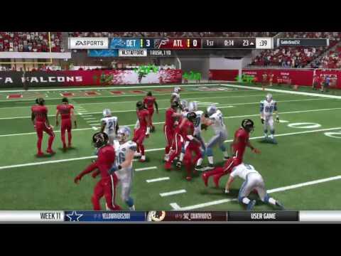 Blitz 2017 Falcons v Lions