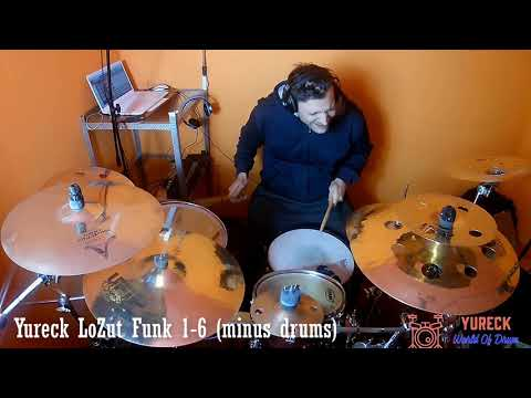 Yureck LoZut Funk 1-6 minus drums