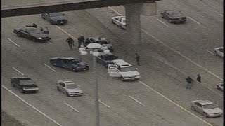 High speed I-696 chase