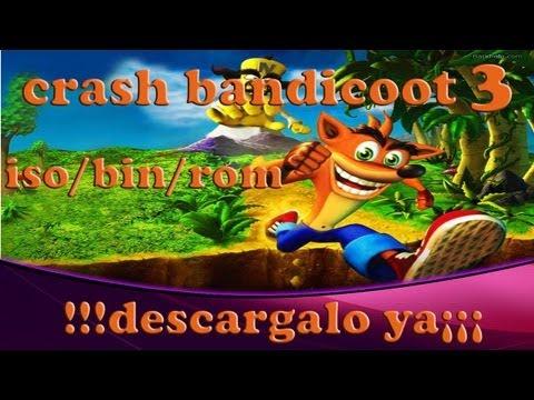 como descargar Crash Bandicoot 3 (ROM/ISO/BIN)