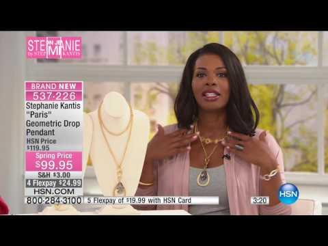 HSN | Stephanie by Stephanie Kantis Fashion Jewelry Premiere 03.20.2017 - 02 AM