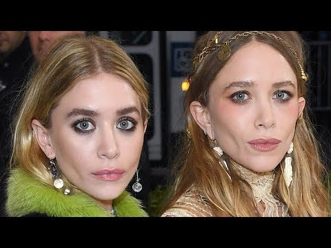 why do the olsen twins dating old guys