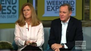 Cynthia and Jim LeMay appear with Lynn Smith on CNN Headline News