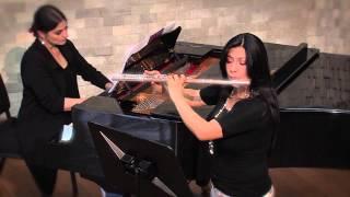 RECITAL DE FLAUTA Y PIANO - REPORTAJE