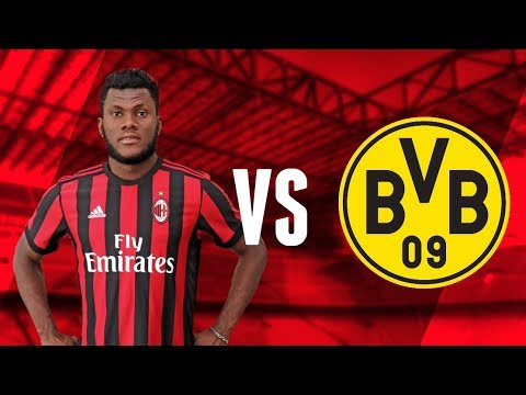 Franck Kessie vs  BVB Dortmund - Friendly Game | AC Milan MV