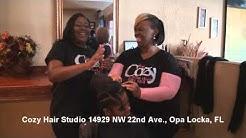SIZZLE and Cozy Hair Studio, Opa Locka, FL