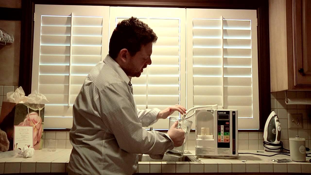 cleaning kangen machine