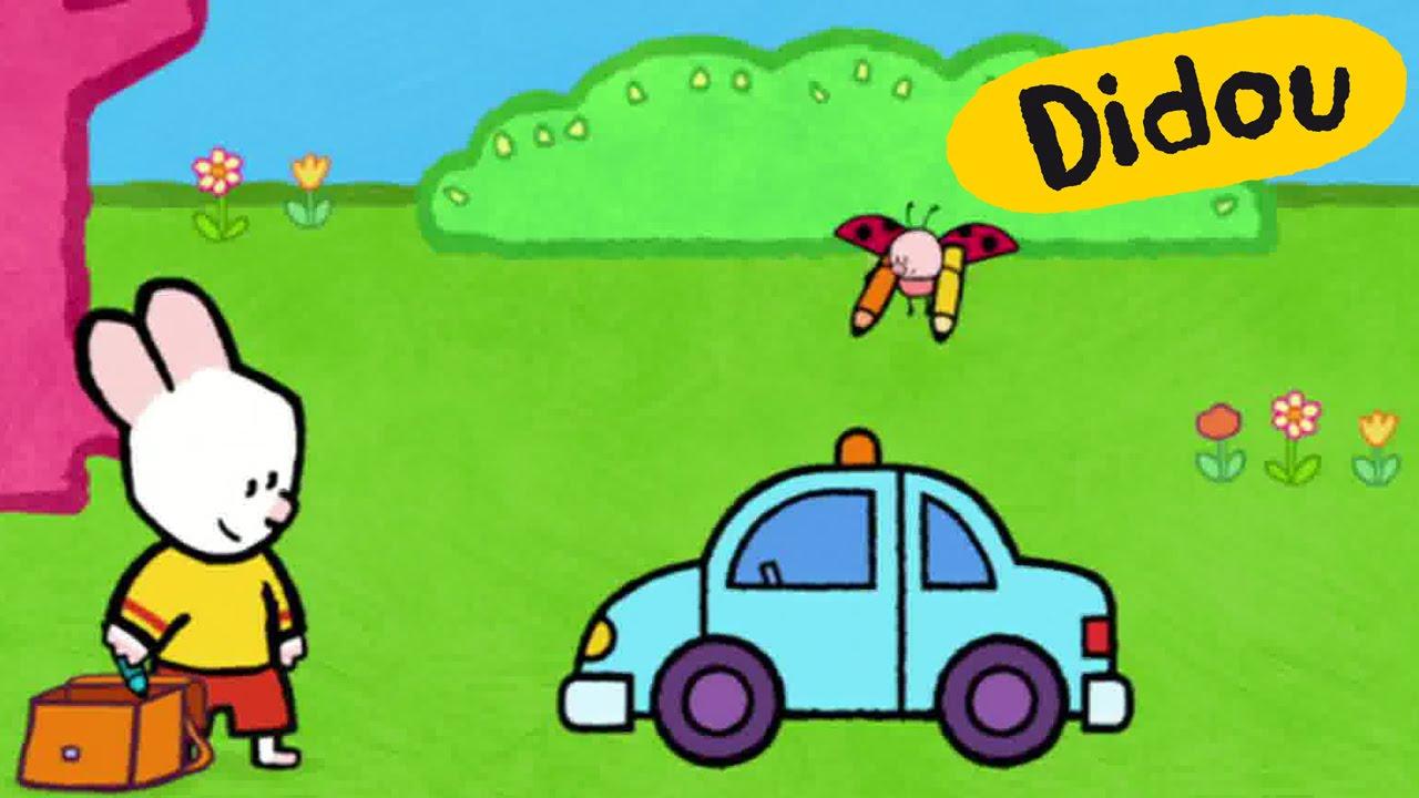 Voiture de police didou dessine moi une voiture de police dessins anim s pour les enfants - Voiture police dessin anime ...