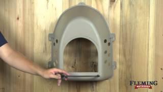 Plastic Chicken Nest Box