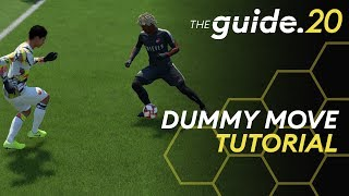 How to UNLOCK a DEFENSE with the Dummy Move in FIFA 20! Simple Skill Move Tutorial