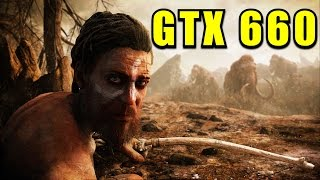 Far Cry Primal GTX 660 & i7 6700k | 1080p High / Normal / Low | FRAME-RATE TEST
