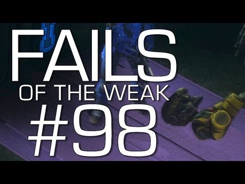 Halo: Reach - Fails of the Weak Volume 98 (Funny Halo Bloopers and Screw-Ups!)