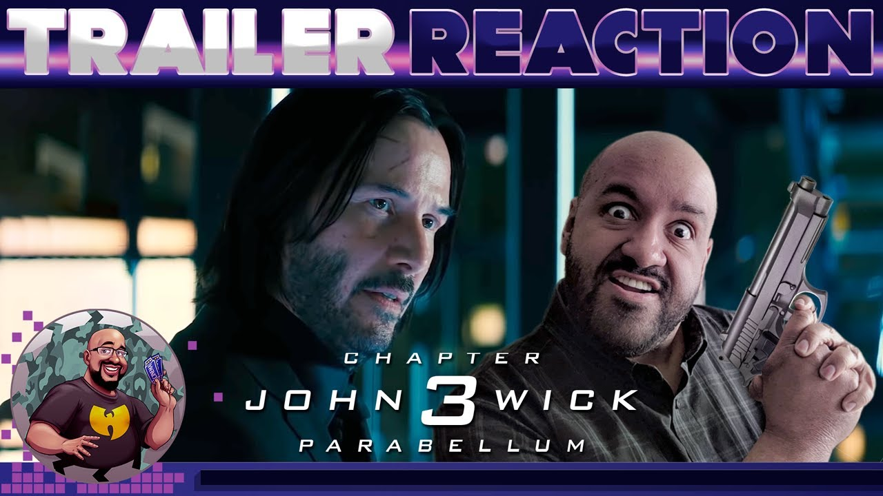 John Wick Chapter 3 Parabellum Trailer #2 REACTION - YouTube
