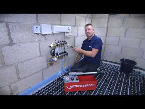 Step 2- How to pressurise an Uponor Underfloor Heating System