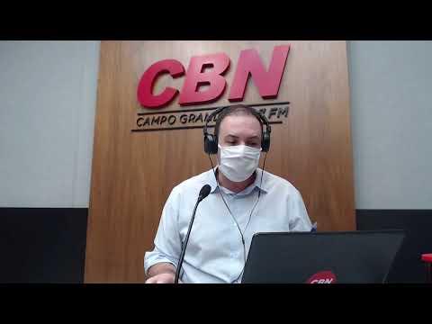 CBN Campo Grande (23/06/2020): com Ginez Cesar