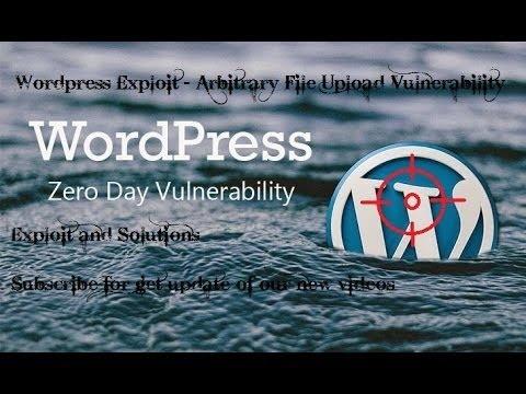 WordPress theme arbitrary file upload vulnerability