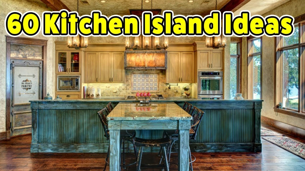 60 Kitchen Island Ideas Creative Design Ideas Youtube