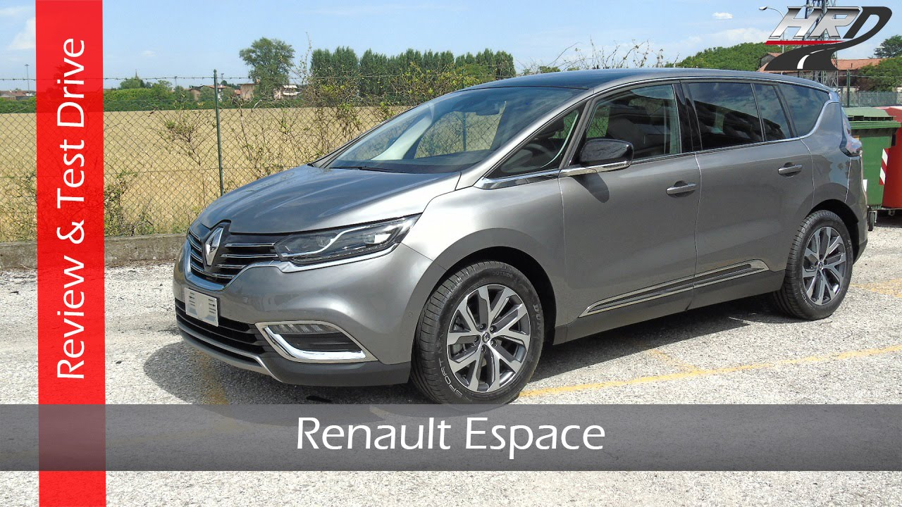 2015 renault espace 1 6 dci test drive review prova su strada nuova renault espace youtube. Black Bedroom Furniture Sets. Home Design Ideas