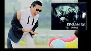 PSY & Drowning Pool - Gangnam Bodies Hit the Floor