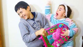 Celina want to sleep and Hasouna make noise - سيلينا وحسونة للاطفال
