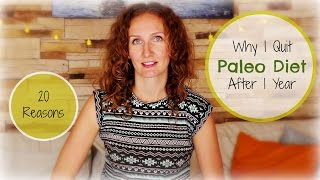Why I Quit The Paleo Diet After 1 Year | A Woman´s Perspective | VitaLivesFree