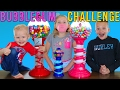 Bubble Gum Challenge || Giant & Tiny Dubble Bubble Gumball Machines