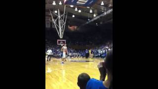 Duke basketball dunk contest miles - marshall