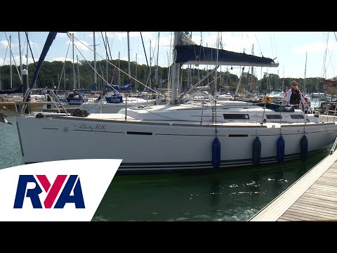 Springing Off  - How to video with Hamble School of Yachting - Tips, Hints and Tricks