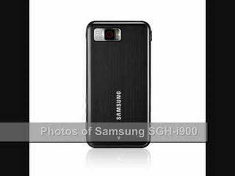 Images of Samsung SGH-i900 WM6.1 phone