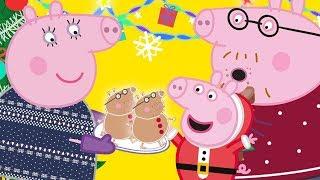 Peppa Pig en Español Episodios   LA VISITA DE PAPÁ NOEL  Pepa la cerdita