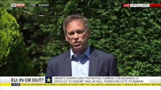 Grant Shapps MP Will Vote To Remain In EU Referendum