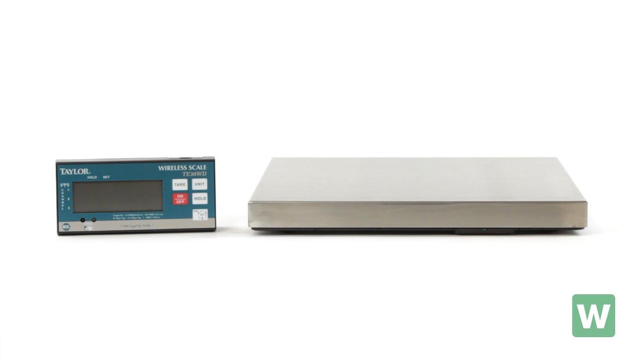 5aae9a8ab641 Taylor TE30WD 30 lb. Digital Portion Control Scale