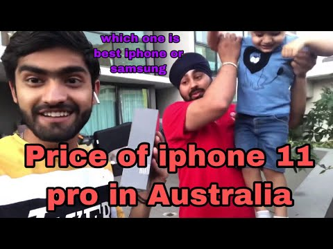 Price Of Iphone 11 Pro In Australia   Which One Is Best Iphone Or Samsung