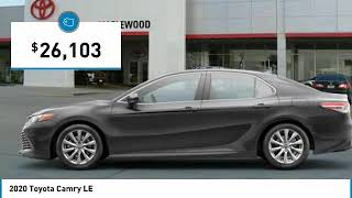 2020 Toyota Camry LE Maplewood, St Paul, Minneapolis, Brooklyn Park, MN L10670