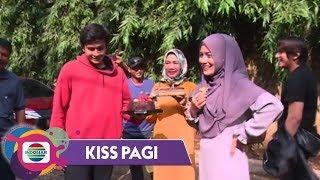 Kiss Pagi - Kejutaan!!! Ulang Tahun Silvia Anggraini di Lokasi Syuting
