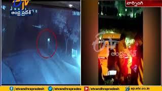 Actor Raj Tarun Escapes From Accident   at Narsingi in Hyderabad