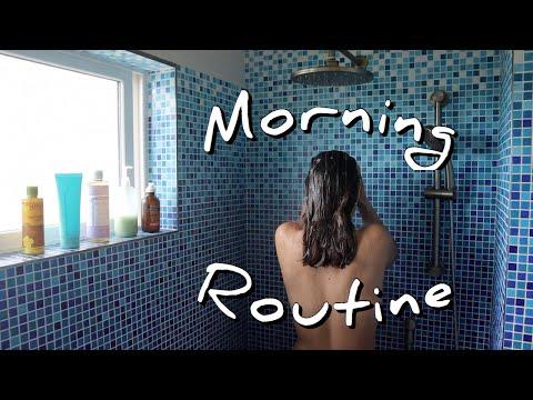 Self-Care Morning Routine / In Hawai'i, Yoga, Skincare, Etc.